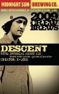Midnight Sun 2009 Crew Brews: Descent - Belgian Strong Ale