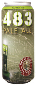 Great River 483 Pale Ale - American Pale Ale