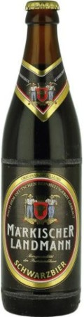 Mrkischer Landmann Schwarzbier - Schwarzbier