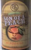 R.J. Rockers Son of a Peach Wheat Ale - Fruit Beer