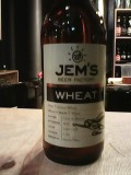 Jem�s Wheat Beer - German Hefeweizen