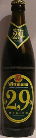 Wittmann 2,9 Medium - Low Alcohol