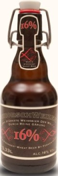 Schorschbru Schorschweizen 16% - Weizen Bock