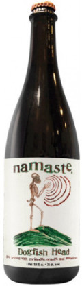 Dogfish Head Namaste - Belgian White &#40;Witbier&#41;