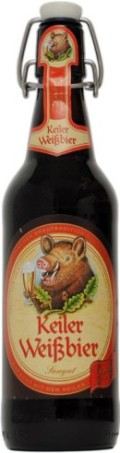 Keiler Weissbier Dunkel - Dunkelweizen