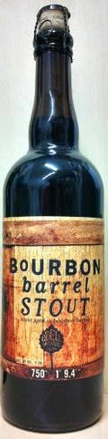 Odell Bourbon Barrel Stout - Imperial Stout