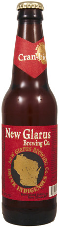 New Glarus Unplugged Wisconsin Cran-bic - Fruit Beer