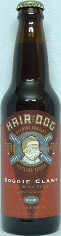 Hair of the Dog Doggie Claws &#40;2001-2002&#41; - Barley Wine