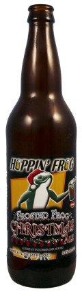 Hoppin Frog Frosted Frog Christmas Ale - Spice/Herb/Vegetable