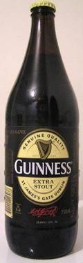 Guinness Extra Stout &#40;Australia&#41; - Dry Stout