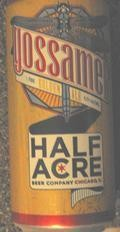 Half Acre Gossamer - Golden Ale/Blond Ale