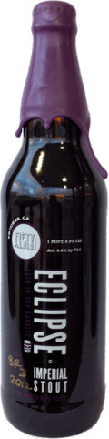FiftyFifty Imperial Eclipse Stout - Elijah Craig 12 Year Barrel - Imperial Stout