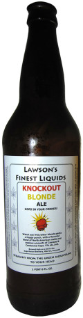Lawsons Finest Knockout Blonde - Golden Ale/Blond Ale