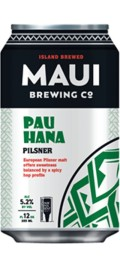 Maui Brewing Pau Hana Pilsner - Czech Pilsner/Sv&#283;tl