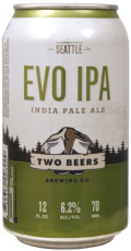 Two Beers Evolutionary IPA - India Pale Ale (IPA)