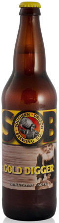 Southern Oregon Gold Digger Northwest Lager - Premium Lager
