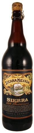 Sierra Nevada 30th Anniversary Fritz & Kens Ale - Imperial Stout