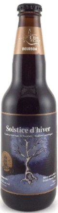Dieu du Ciel Solstice dHiver Rserve Spciale &#40;Oak Aged&#41; - Barley Wine