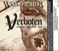 Weyerbacher Verboten - Belgian Ale