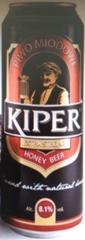 Kiper Extra Strong Original Honey Beer - Spice/Herb/Vegetable