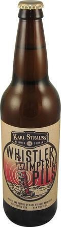 Karl Strauss Whistler Imperial Pilsner - Strong Pale Lager/Imperial Pils