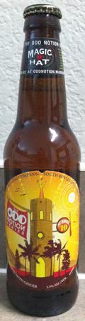 Magic Hat Odd Notion - Ginger Golden Ale (Summer 10) - Spice/Herb/Vegetable