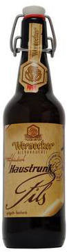 Wernecker Haustrunk Pils - Pilsener