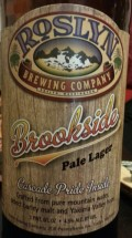 Roslyn Brookside Beer - Pale Lager