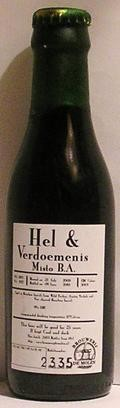 De Molen Hel & Verdoemenis Misto B.A. - Imperial Stout
