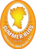 Grafton Summer Bliss - Golden Ale/Blond Ale