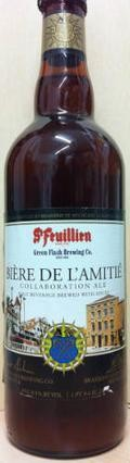 St Feuillien / Green Flash  Bi�re De L�Amiti� - Belgian Strong Ale
