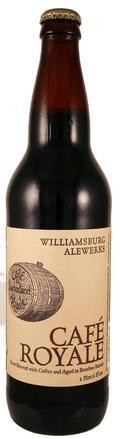 Williamsburg AleWerks Cafe Royale - Imperial Stout