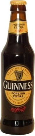 Guinness Foreign Extra Stout  - Foreign Stout