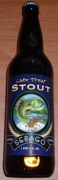 Sebago Lake Trout Stout - Stout