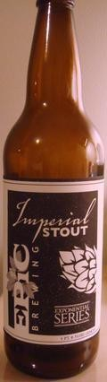 Epic Imperial Stout - Imperial Stout
