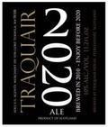 Traquair 2020 - Barley Wine