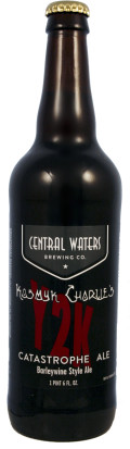 Central Waters Kosmyk Charlies Y2K Catastrophe Ale - Barley Wine