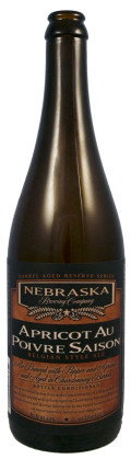 Nebraska Brewing Company Reserve Series Apricot au Poivre Saison - Saison