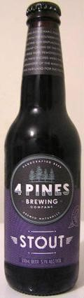 4 Pines Stout - Dry Stout