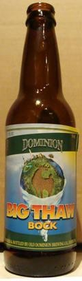 Dominion Big Thaw Bock - Heller Bock
