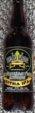 Dead Frog Citra IPA - India Pale Ale (IPA)