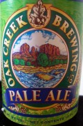 Oak Creek Pale Ale - American Pale Ale