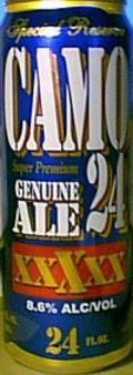 Camo Genuine Ale - Malt Liquor