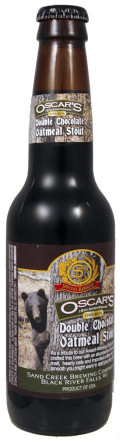 Sand Creek Oscars Double Chocolate Oatmeal Stout - Sweet Stout