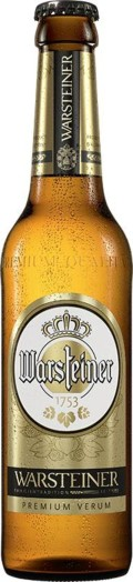 Warsteiner Premium Verum - Pilsener