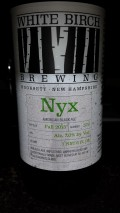 White Birch Apprentice Series Nyx - Black IPA