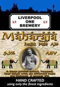 Liverpool One Maharaja IPA - India Pale Ale &#40;IPA&#41;