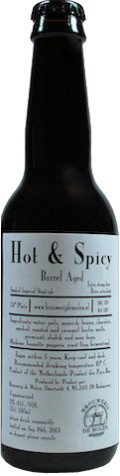 De Molen Hot & Spicy - Imperial Stout