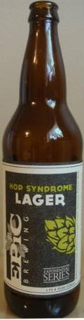 Epic Hop Syndrome Lager  - Premium Lager