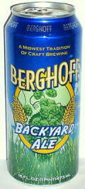 Berghoff Backyard Ale - American Pale Ale